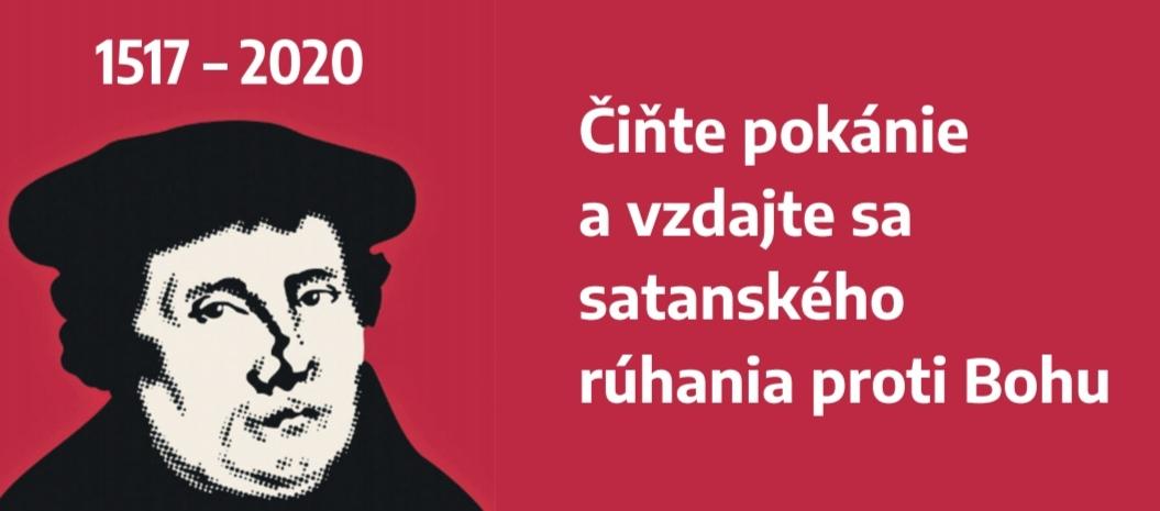 Čiňte pokánie avzdajte sa satanského rúhania proti Bohu