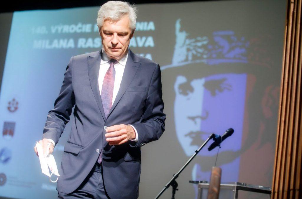 O výstave Milan Rastislav Štefánik a tí, čo ho nasledovali, ale aj o ministrovi, ktorý ho dnes nasleduje