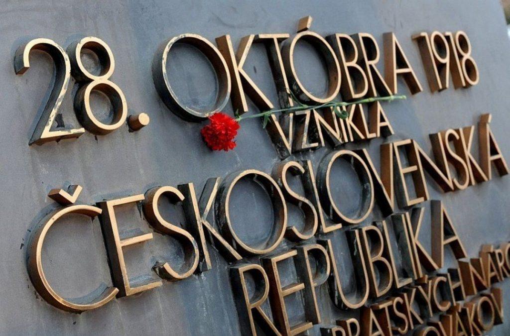 28. október je významný dátum v našej histórii – vznik Československej republiky.